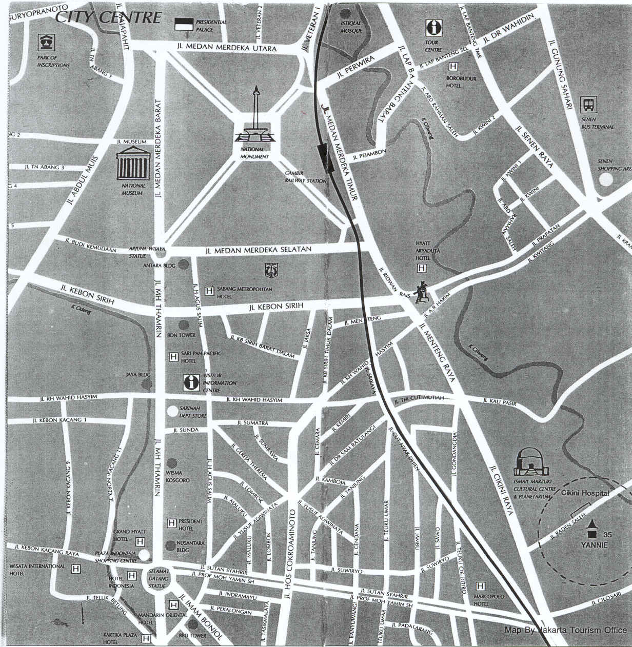 City map sites perry castaeda map collection ut library online jakarta indonesia city center seasite publicscrutiny Image collections