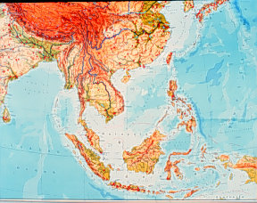 Political And Cultural Geography Of Southeast Asia - Political map of asia