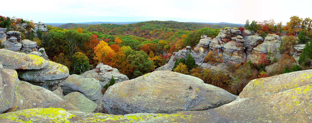 Garden Of The Gods, Shawnee National Forest, IL