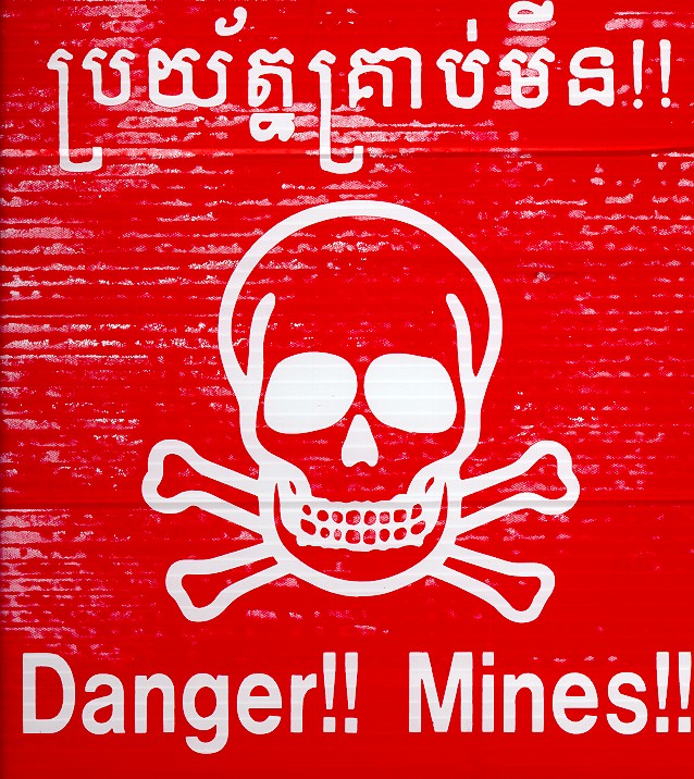 Landmines in Cambodia