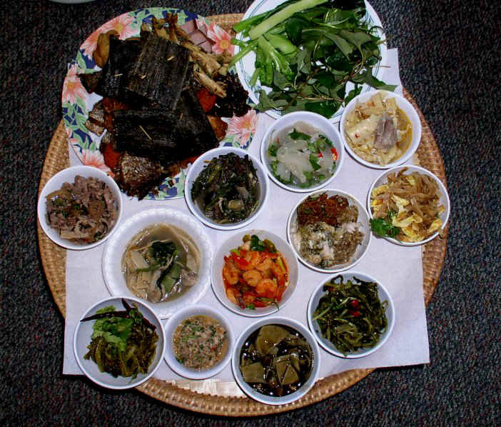 What is your favorite region of thailand for Ano thai lao cuisine